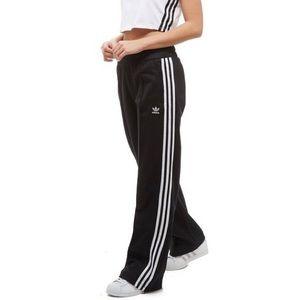Adidas originals wide leg high waist track pants
